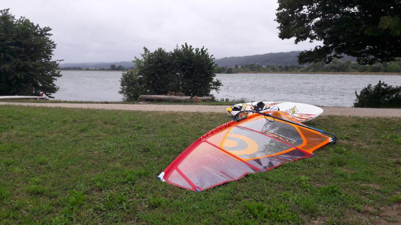 Rhein bei Leibstadt