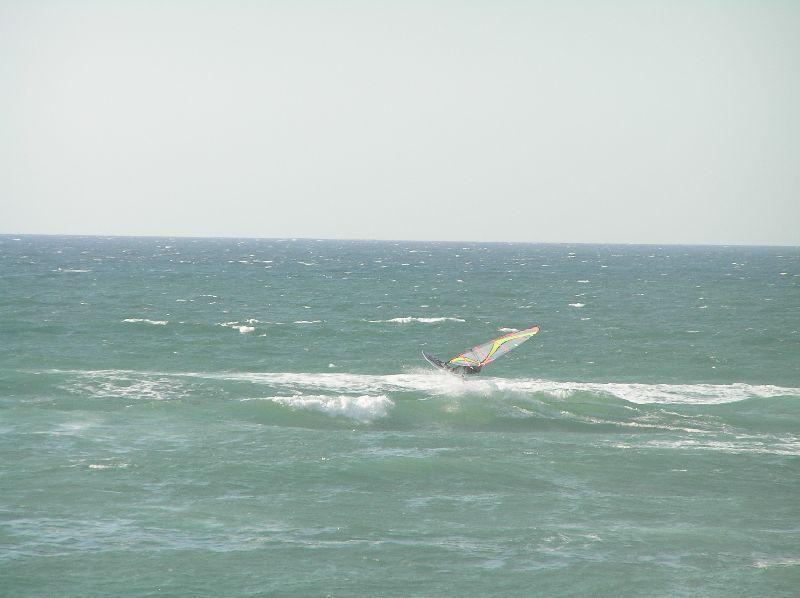 windsurfing in Seignosse