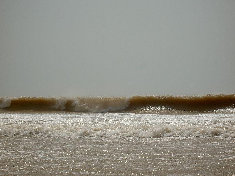 Shorebreak in Kaouki