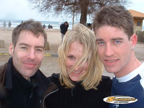 Alain,Bettina,Simon